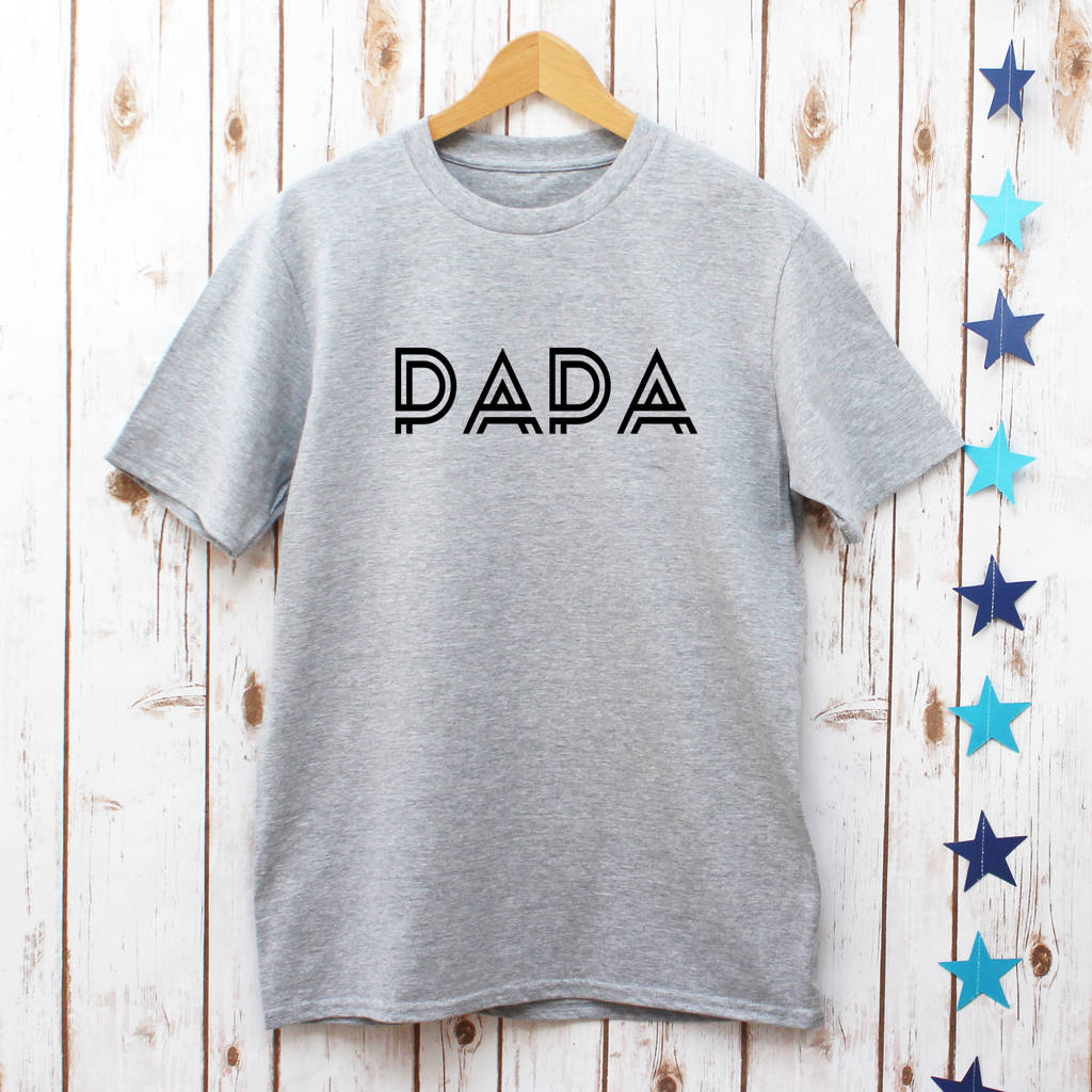 3b96cca2 father's day papa men's t shirt by betty bramble ...