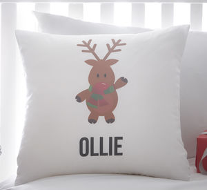 Personalised Children's Christmas Cushion - soft furnishings & accessories
