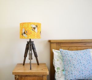 Bee Lampshade - living room