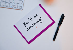 'You'll Be Amazing' Card