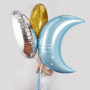 Giant Moon Crescent Balloon