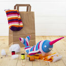 Sock Narwhal Craft Kit