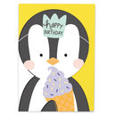 'Happy Birthday' Penguin
