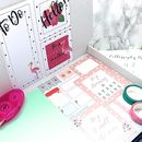 Bullet Planner And Journal Subscription Gift Box