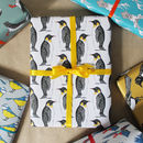 Matching Penguin Gift Wrap