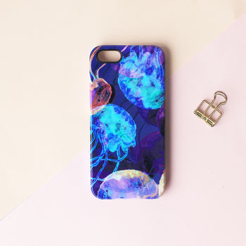 Translucent Jellyfish Phone Case