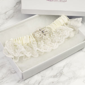Vintage Inspired 'Lux' Bridal Garter - lingerie accessories