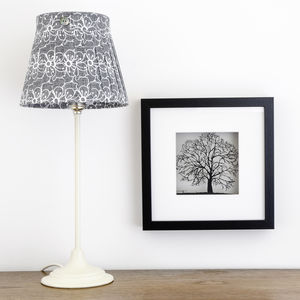 Framed Paper Cut Tree Picture