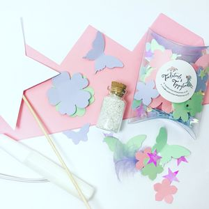 Fairy Princess Crown And Wand Party Craft Kit - decoration