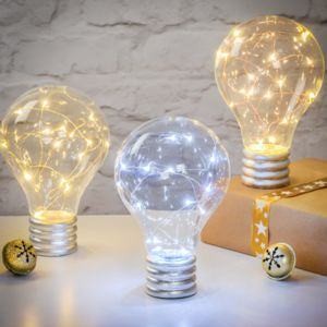 Freestanding LED Light Up Bulb - lighting