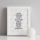 The Best People Are Bonkers Friendship Print