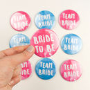 Hen Party Badges Team Bride