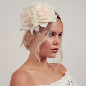 Arabella Floral Crown Headband - bridesmaid fashion