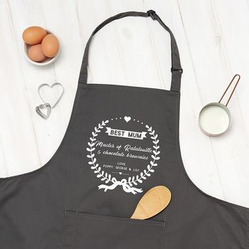 Personalised Best Mum Apron