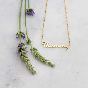 'Mummy' Necklace