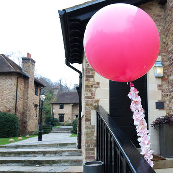 Flower Tail Giant Balloon