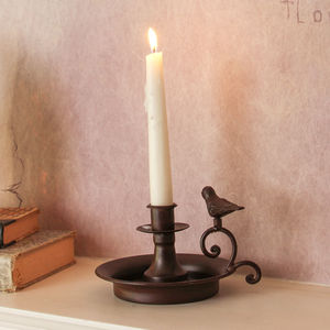 Metal Bird Candle Holder - home accessories