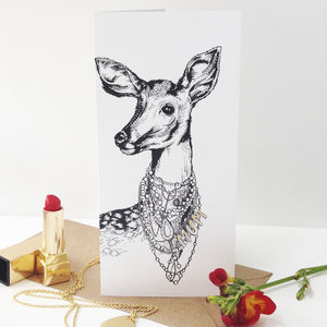 You Look Fabulous Deer Mother's Day Card - shop by category