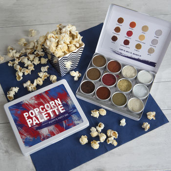 Make Your Own Personalised Popcorn Seasoning Kit