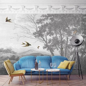 Zephyr Wall Mural By Woodchip And Magnolia - wallpaper