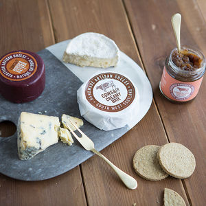 Luxury Cheese And Chutney Selection - bread & cheese