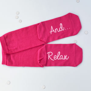 And…Relax Women's Socks