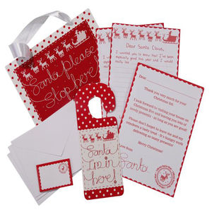 Santa Letter And Sign Pack