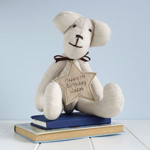 Personalised Teddy Bear - soft toys