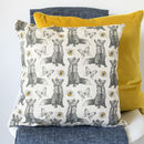 Fox And Bees Cushion