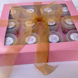 Pink And Gold Cookie Dough Variety Gift Box