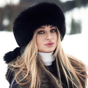 Black Sheepskin Headband - womens