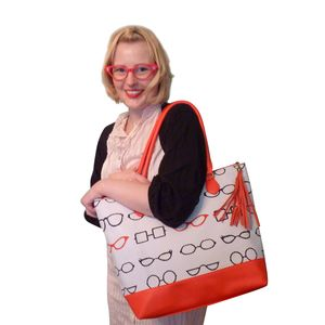 Eye Spy Bag With Free Cosmetic Bag - bags & purses