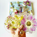 Fresh Flower Drink Coasters
