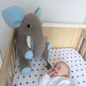 Elephant Soft Toy Extra Large Personalised