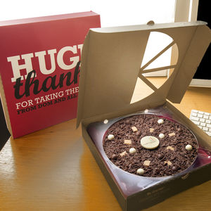 Corporate Chocolate Pizza Gifts
