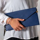 Personalised Clutch Bag - Navy