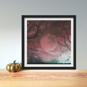 Limited Edition 'Red Harvest' Photographic Print - giclée