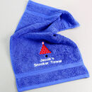 Personalised Snooker Towel