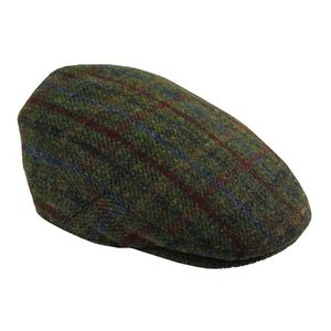 Harris Tweed Flat Cap - men's accessories