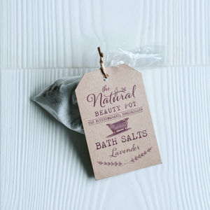 Bath Salt Hen Party Favours - hen party ideas