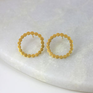 Dotty Circle Earrings