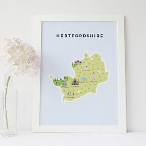 Map Of Hertfordshire