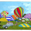 Early Balloon Ascent Bristol Placemat