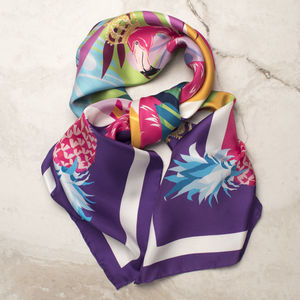 Flamingo Scarf - new gifts for her