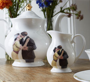 Kissing Couple Cream Jug - tableware
