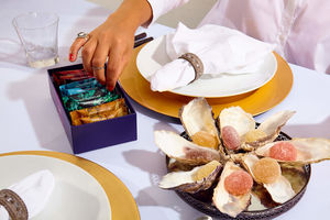Luxury Mixed Selection Of Alcoholic Sweets - beautiful sweet treats