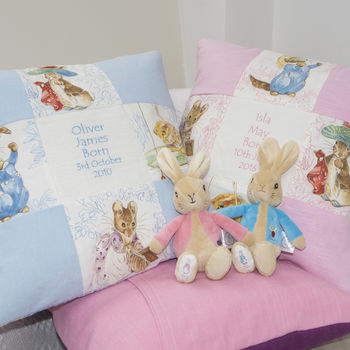 Patchwork Beatrix Potter© Name And Date