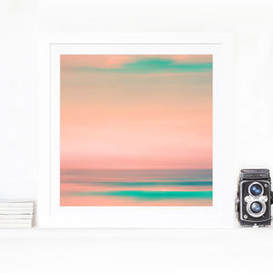 California Geen Home Fine Art Print - modern & abstract