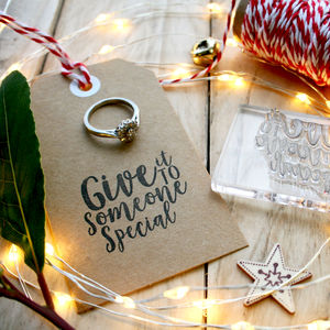 Christmas Song Tag Stamps