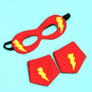 Super Hero Mask And Cuff Set